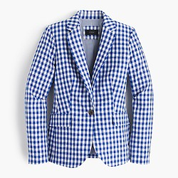 Campbell blazer in gingham