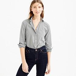 Petite perfect shirt in microgingham