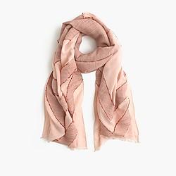 Arrow print scarf