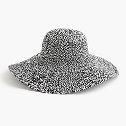 Floppy speckled hat