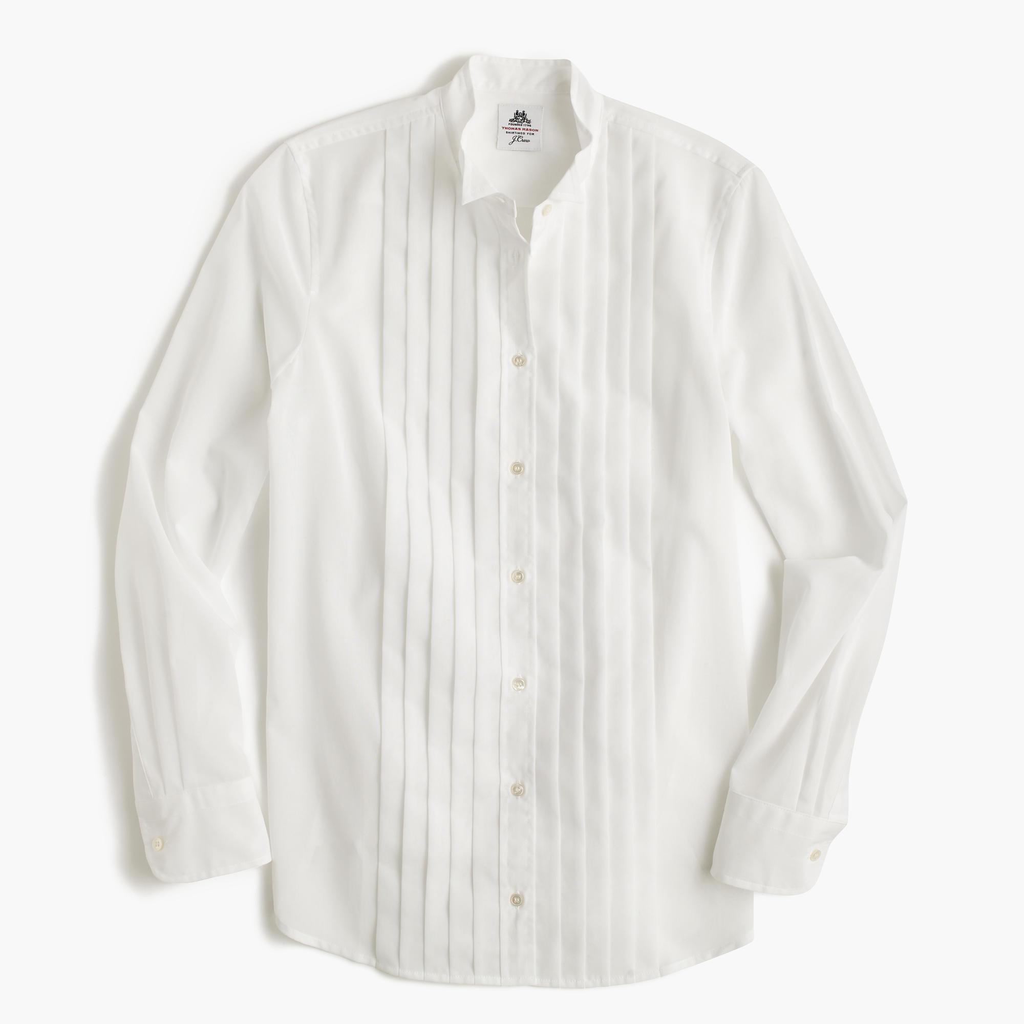 Collection thomas mason tuxedo shirt in cotton voile for Thomas mason dress shirts