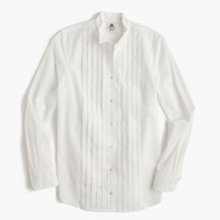Collection Thomas Mason® tuxedo shirt in cotton voile