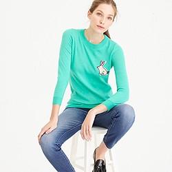 Petite Tippi bunny sweater