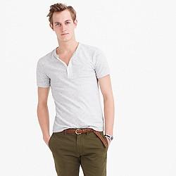 Slim short-sleeve flagstone henley