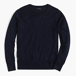 Featherweight merino wool crewneck sweater
