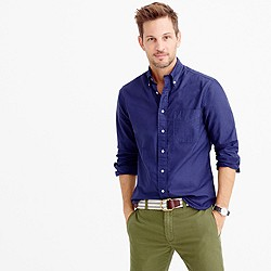 Gitman Vintage™ for J.Crew garment-dyed oxford shirt