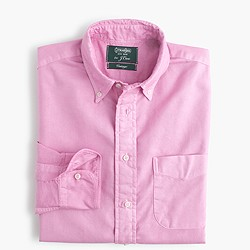 Gitman Vintage™ for J.Crew garment-dyed oxford shirt