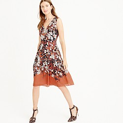 Collection A-line dress in autumn floral
