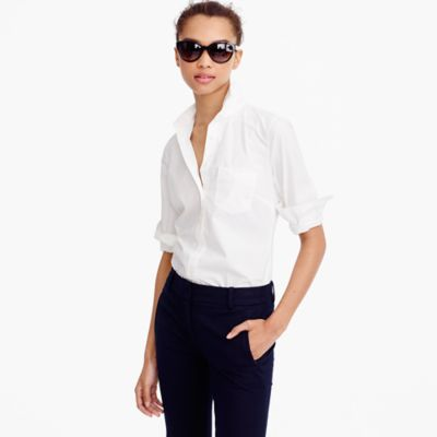 New perfect shirt in cotton poplin