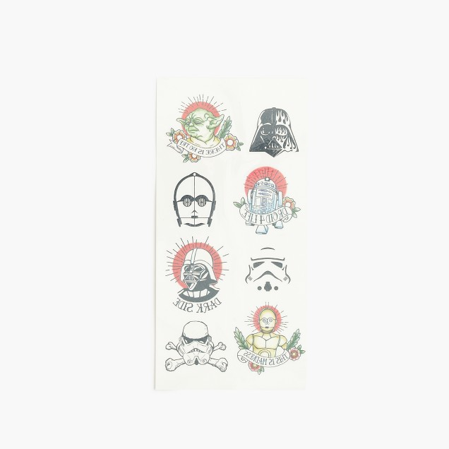 Kids' Star Wars for crewcuts temporary tattoos