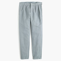 Wallace & Barnes double-pleated chino