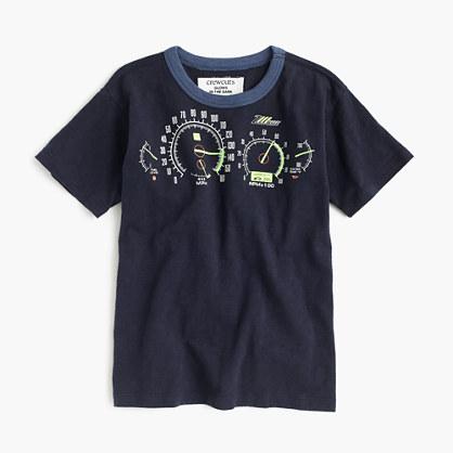 Boys' glow-in-the-dark speedometer T-shirt