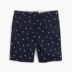 Bermuda short in polka dot