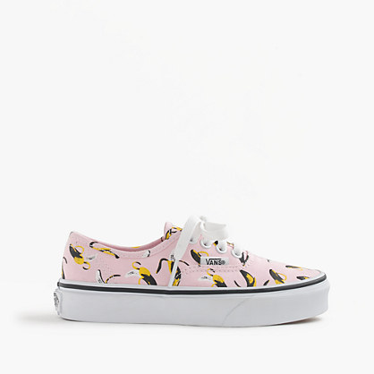 Vans® Authentic bananas sneakers in larger sizes