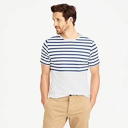 Arpenteur™ Rachel T-shirt in nautical engineered stripe
