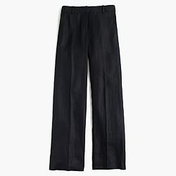 Full-length linen pant