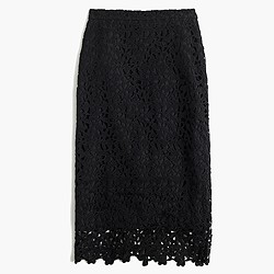 Collection lace skirt
