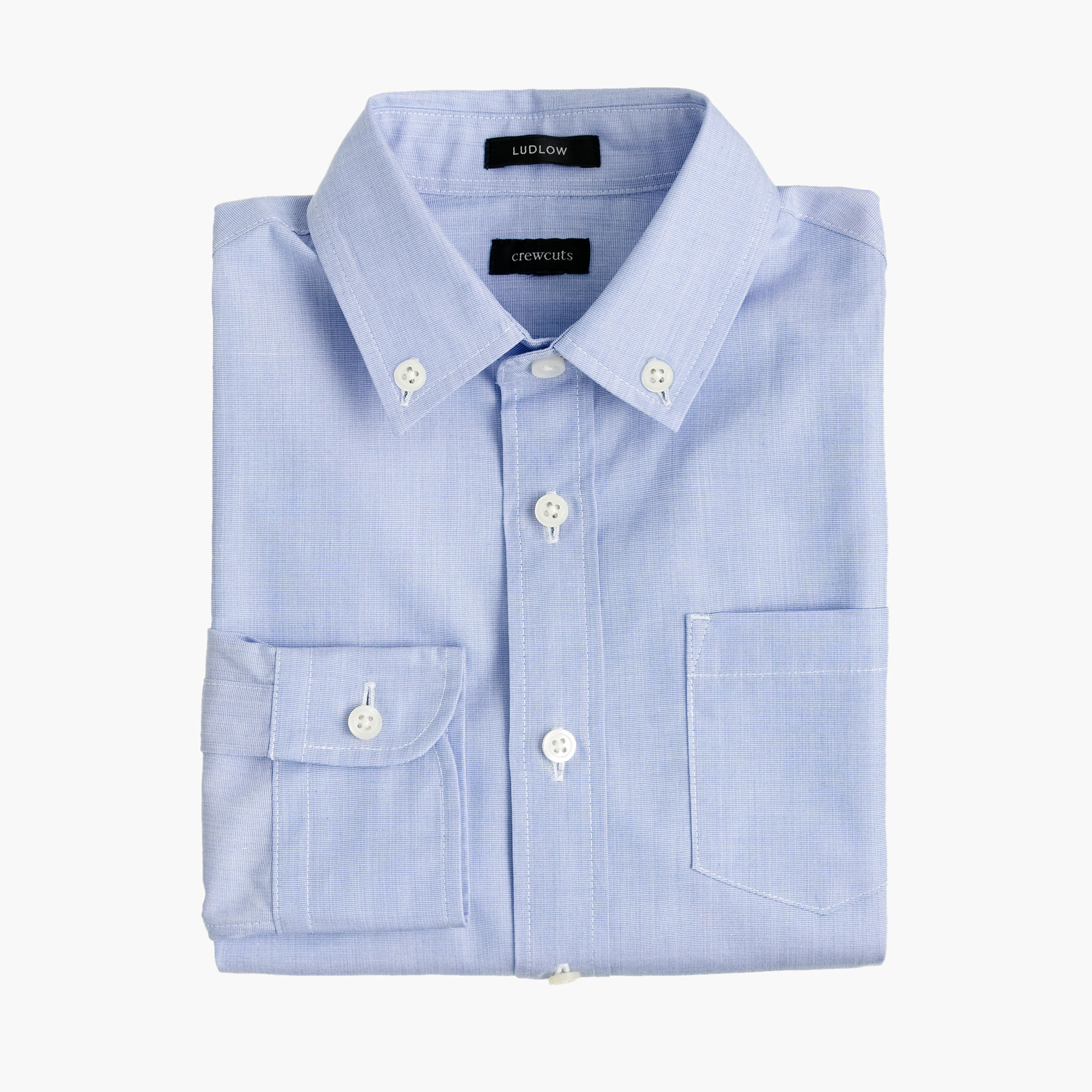 Boys 39 button down solid ludlow shirt boy ludlow j crew for Solid color button up shirts
