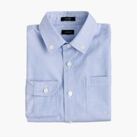 Boys' button-down solid Ludlow shirt