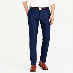 Ludlow suit pant in Irish linen