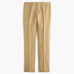 Ludlow suit pant in Irish linen