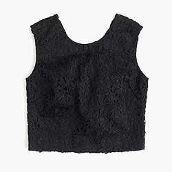 Collection lace crop top