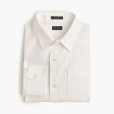 Boys' point-collar solid Ludlow shirt