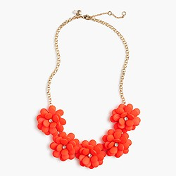 Girls' petal necklace