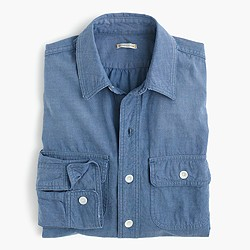 Chimala® vintage scout shirt in denim