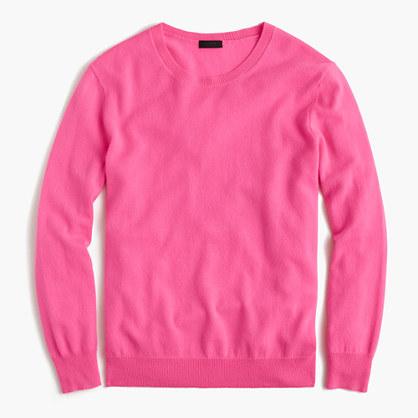 Italian cashmere boyfriend crewneck sweater