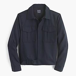 Eisenhower jacket in Italian wool