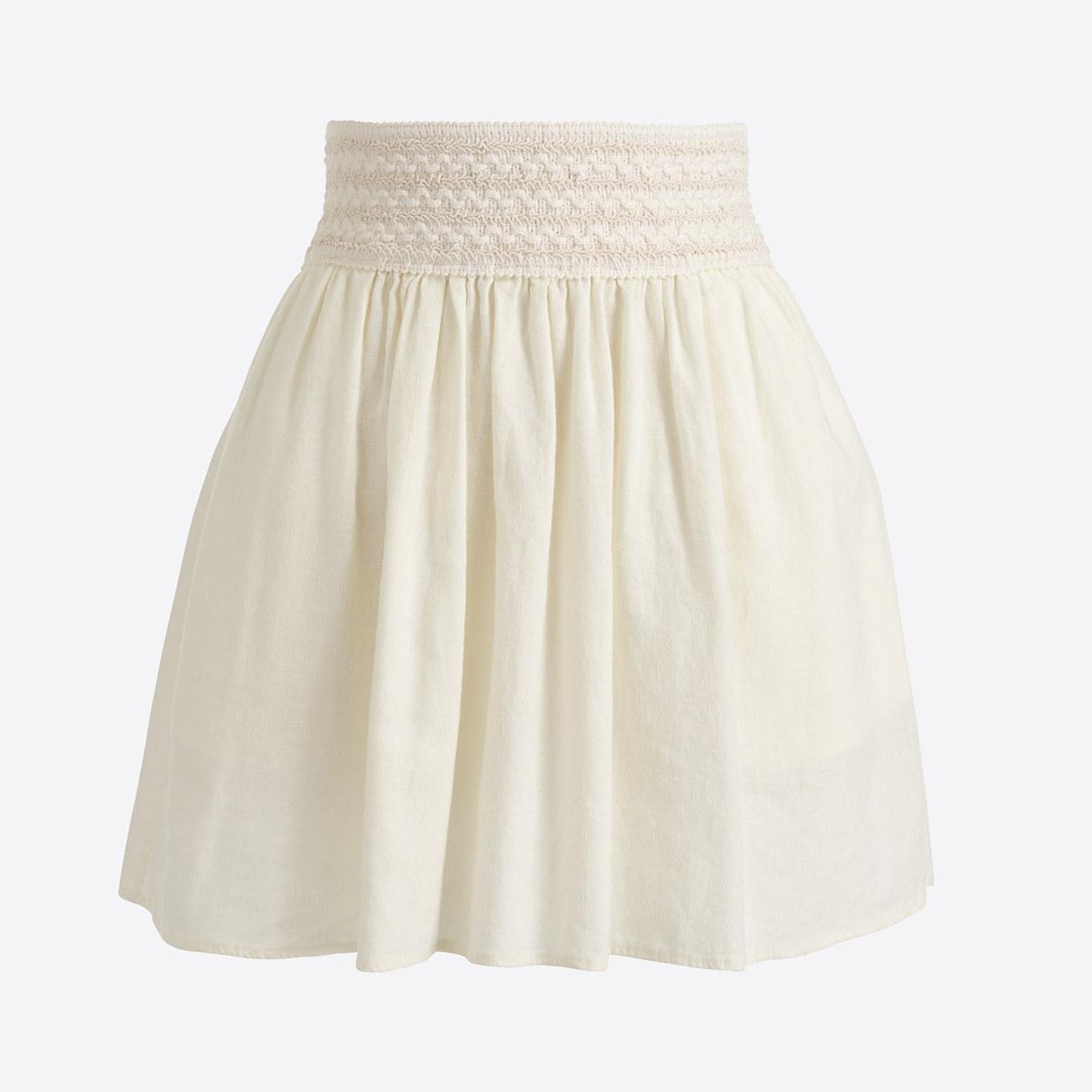 Eyelet skirt : Midi & Maxi | J.Crew Factory