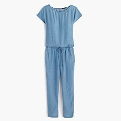 Relaxed jumpsuit in Tencel