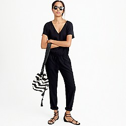 Relaxed jumpsuit in Tencel-linen
