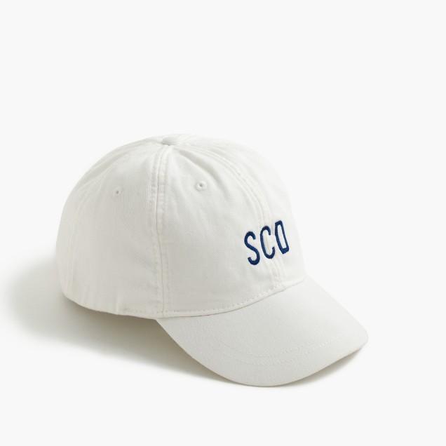 Kids' baseball cap