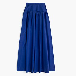 Collection crinoline skirt in deep violet