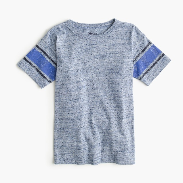 Boys' T-shirt in heather stripe