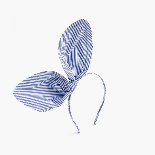 Girls' giant bow headband