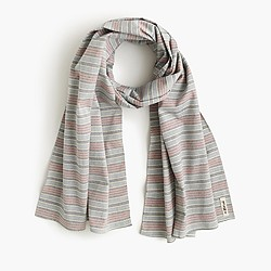 The Hill-side® scarf in border stripe