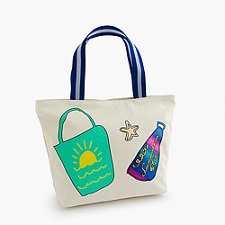 Wovenplay® for crewcuts beach bag