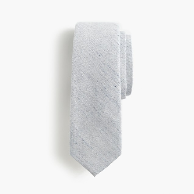 The Hill-side® point tie in pale indigo