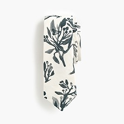 The Hill-side® point tie in tree print