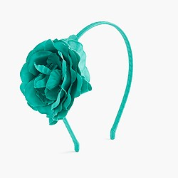Girls' blooming floral headband