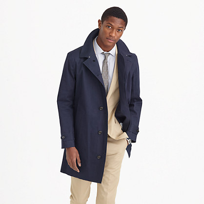 Hancock® for J.Crew waterproof trench coat