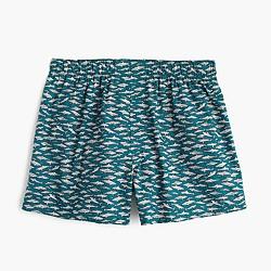 Shark print boxers