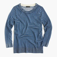Petite Tippi sweater in gingham
