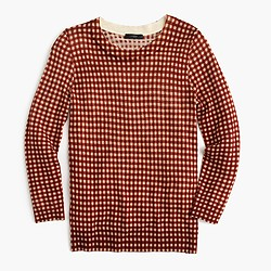 Tippi sweater in gingham