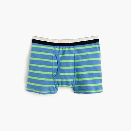 Boys' striped boxers