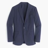Unstructured Ludlow cotton-linen blazer in coastline navy