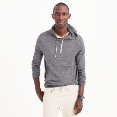 Cotton-linen hoodie